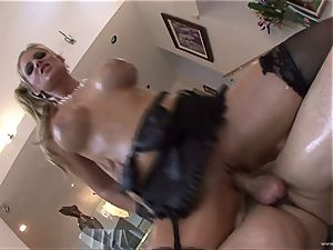 Phoenix Marie super-fucking-hot stunner crammed with french dressing