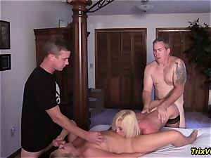 gang pulverize the Stripper with Ms Paris Rose