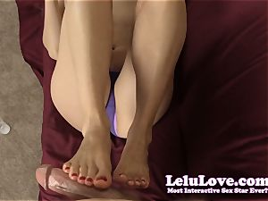 masturbating YOUR wood with my forearms and soles til you jizz