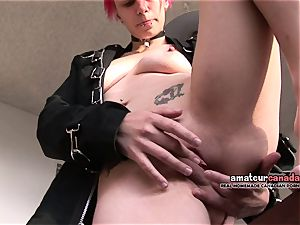 brief hair French rocker student frigs upskirt