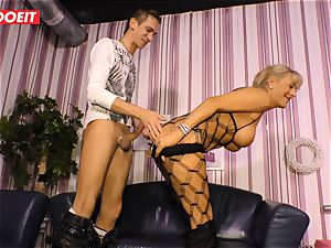 LETSDOEIT - super-hot aunt-in-law rails nephews chisel On bang-out tape