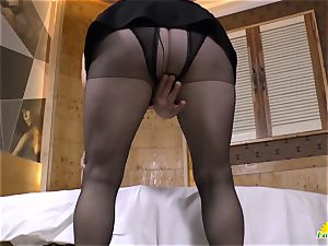LatinChili tempting Adult toy Solo getting off