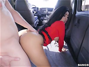 Aaliyah Hadid picked up and boinked on the BangBus