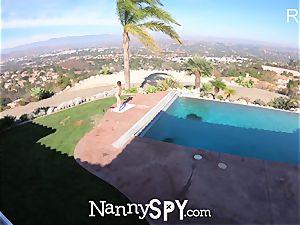 NannySpy childminder Kristen Scott caught masturbating