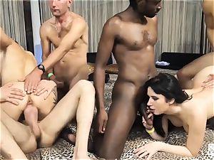 casting ALLA ITALIANA - naughty Italian interracial fuck-a-thon