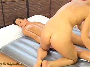naughty lesbo nuru rubdown hook-up