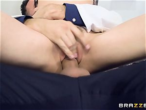 Marley Brinx gets her muff deeply studied at the doctors