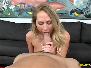 Carter Cruise gets her facehole chubby a monster