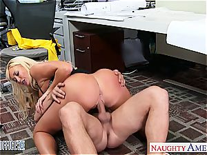 great office honey Summer Brielle gets drilled