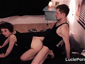 unexperienced lezzy nymphos get their stretch beavers ate and splayed