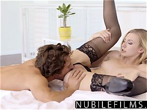 NubileFilms - horny ash-blonde Alexa grace powerful hump