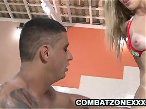 Regininha Gaucha - fleshy blond teenager butt To throat