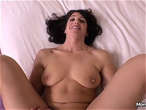 harmless brown-haired mummy cuckold creampie fantasy