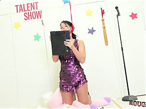 british teenage facial cumshot and fetish network Talent Ho