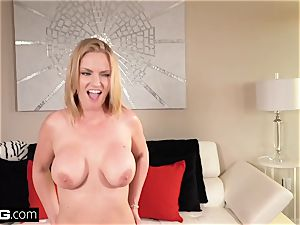 Real cougars - huge breast mummy pov with Rachael Cavalli