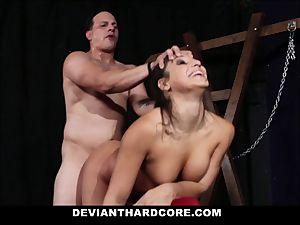 DeviantHardcore - xxx nubile penetrated in dungeon