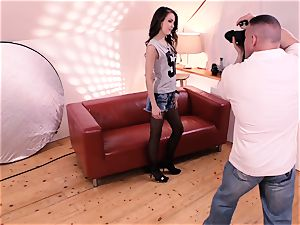 MY horny ALBUM - luxurious stunner Cindy seduced and torn up