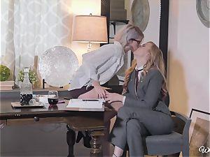 Alexa mercy and Arya Fae minge polish