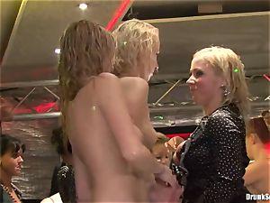 Bibi Fox, Tarra white and Carla Cox insane and crazy