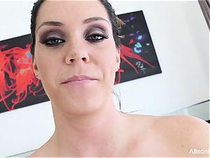Interview with buxomy hottie Alison Tyler