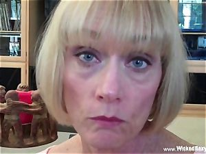 boned Up bang wish With first-timer GILF