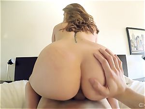 Scarlett Rose gets a indeed rude enlivenment