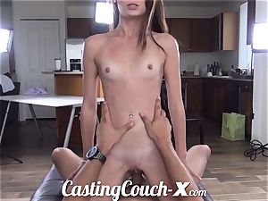 casting Couch-X Georgia peach thrilled to do porn for $