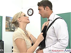 horny Julia Ann is ultra-kinky for knob after class