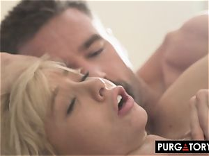PURGATORYX plumbing a hot milf and her tiny stepdaughter