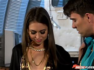 Smoking red-hot Riley Reid packed up with Toni Ribas