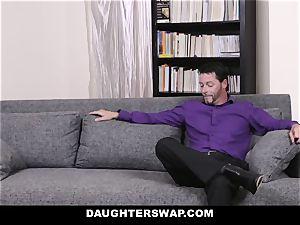 DaughterSwap - cute teen webcam damsel torn up By Bffs dad