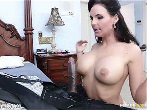 Phoenix Marie is prepped to take a enormous dark-hued dick in her slit