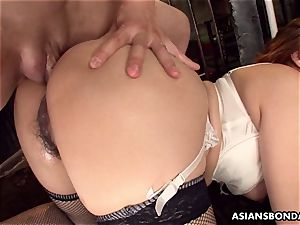 providing her caboose up in a horny sadism & masochism session