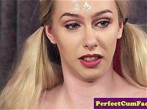 big-boobed cum therapist tit drilling for facial cumshot